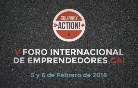 V FORO INTERNACIONAL DE EMPRENDEDORES CA!
